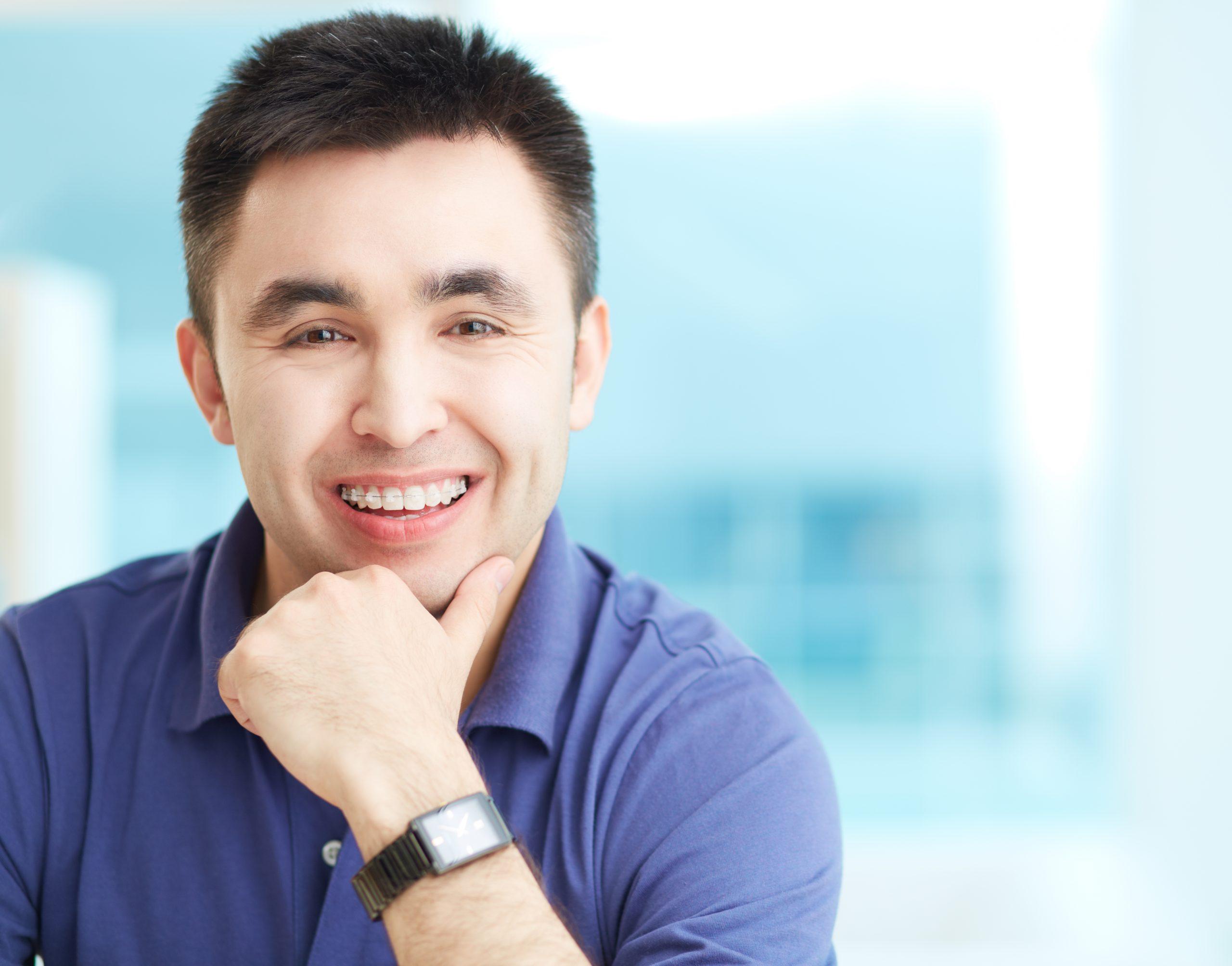 fixed braces adult orthodontics treatment at Roseneath Orthodontics